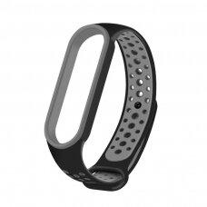 Laikrodžio Xiaomi Mi Band 5 apyrankė Dots juoda-pilka