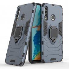 """Apsauginis dėklas su žiedu """"Ring Armor Rugged"""" Huawei P30 Lite mėlynas"""