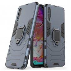 """Apsauginis dėklas su žiedu """"Ring Armor Rugged"""" Xiaomi Mi CC9e / Xiaomi Mi A3 mėlynas (ple33) UCS121"""