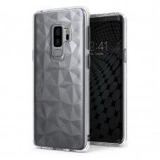 """""""Ringke Air Prism Glitter"""" Tpu Dėklas Iškiliu Paviršiumi """"Ultra-Thin 3D"""" Samsung Galaxy S9 Plus G965 Permatomas  (Apsg0021-Rpkg)"""
