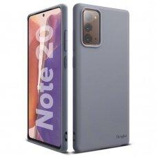 Ringke Air Ultra-Thin Plonas Gelinis Tpu Dėklas Samsung Galaxy Note 20 Violetinė (Adsg0024)