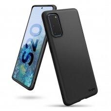 RINGKE AIR S ULTRA-THIN TPU GELINIS DĖKLAS Samsung Galaxy S20 juodas (ADSG0018) (ctz003) UCS003