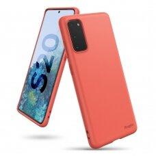 RINGKE AIR S ULTRA-THIN TPU GELINIS DĖKLAS Samsung Galaxy S20 koralo spalvos (ADSG0009) (ctz003) UCS003