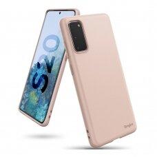 RINGKE AIR S ULTRA-THIN TPU GELINIS DĖKLAS Samsung Galaxy S20 rožinis (ADSG0011) (ctz003) UCS003
