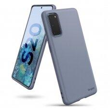 RINGKE AIR S ULTRA-THIN TPU GELINIS DĖKLAS Samsung Galaxy S20 violetinis (ADSG0010) (ctz003) UCS003
