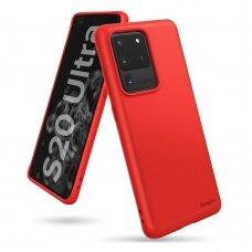 RINGKE AIR S ULTRA-THIN TPU GELINIS DĖKLAS Samsung Galaxy S20 Ultra raudonas (ADSG0021) (czt002) UCA001