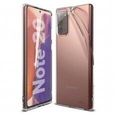 Ringke Air Ultra-Thin Gelinis Tpu Dėklas Samsung Galaxy Note 20 Skaidrus (Arsg0029)