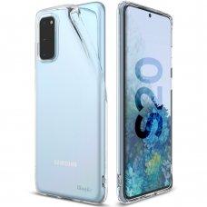 """Apsauginis gelinis dėklas """"Ringke Air Ultra-Thin"""" Samsung Galaxy S20 permatomas (ARSG0023) (lqn04)"""