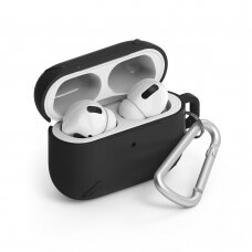 Ringke AirPods Case strong protective case Protector for Airpods Pro juodas (ACEC0013) (ctz220)