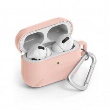 Ringke AirPods Case patvarus apsauginis dėklas AirPods Pro rožinis (ACEC0014) (ctz220)