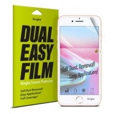 """Apsauginės Ekrano Plėvelės 2X """"Ringke Dual Easy"""" Iphone 8 / 7 / 6S / 6 (Esap0001-Rpkg)"""