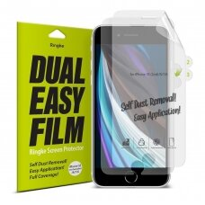 Ringke Dual Easy Film 2x self dust removal apsauginės ekrano plėvelės iPhone SE 2020 / iPhone 8 / iPhone 7 (ESAP0005) UCS062