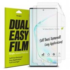 """Apsauginės Ekrano Plėvelės 2X """"Ringke Dual Easy"""" Samsung Galaxy Note 10 (Essg0014)"""