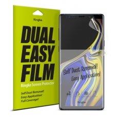 """Apsauginės Ekrano Plėvelės 2X """"Ringke Dual Easy"""" Samsung Galaxy Note 9 N960 (Essg0001-Rpkg)"""