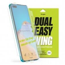 Ringke Dual Easy Wing 2x apsauginis stiklas Huawei P40 Pro (DWHW0003) UCS069