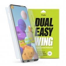 Ringke Dual Easy Wing 2X Pilnai Dengianti Apsauginė Plėvelė Samsung Galaxy A21S (Dwsg0012)