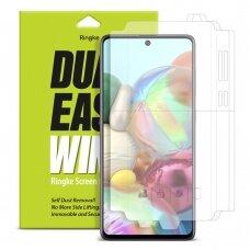 Ringke Dual Easy Wing 2x apsauginės plėvelės  Samsung Galaxy A71 (DWSG0002) (ctz005) UCS024