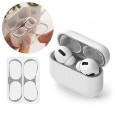 Ringke Dust Guard Sticker skirta Apple Airpods Pro Charging Base (2 Pcs Set) Pilkas (Acer0005)