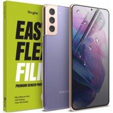 Apsauginės ekrano plėvelės x2 Ringke Easy Flex Samsung Galaxy S21 5G (E10F036) (case friendly)