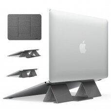 Ringke Folding Stir 2 Foldable Portable Holder for Laptop Notebook pilkas (ACST0011) (ctz220)