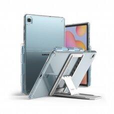 Dėklas Ringke Fusion Combo Outstanding su kojele TPU Samsung Galaxy Tab S6 Lite Permatomas (FC447R39)