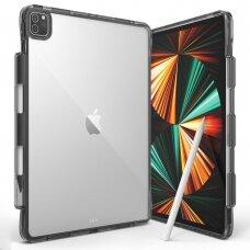Dėklas sutvirtintais kraštais Ringke Fusion PC + TPU  iPad Pro 12.9'' 2021 juodas