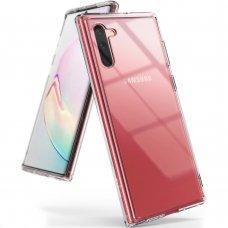"""Tpu Ir Pc Dėklas Sutvirtintais Kraštais """"Ringke Fusion"""" Samsung Galaxy Note 10 Plus Permatomas (Fssg0069)"""