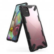Dėklas Ringke Fusion X Durable skirta Samsung Galaxy M31S Juodas (Fusg0063)