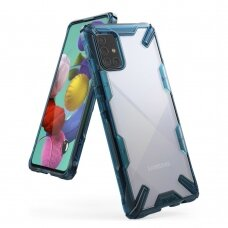 Dėklas Ringke Fusion X Durable skirta Samsung Galaxy M31S Mėlynas