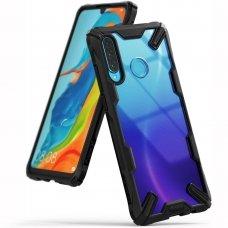 """Smūgiams Atsparus Pc Plastiko Dėklas Su Tpu Sutvirtintais Šonais """"Ringke Fusion X Design"""" Xiaomi Mi 9T Pro / Mi 9T Juodas (Fxxi0003)"""