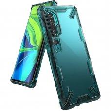 "Apsauginis plastikinis dėklas ""Ringke Fusion X durable"" Xiaomi Mi Note 10 / Mi Note 10 Pro / Mi CC9 Pro žalias (FXXI0016) (goe85) UCS103"