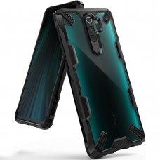 """Apsauginis Dėklas """"Ringke Fusion X Durable""""  Pc Plastikas + Tpu Xiaomi Redmi Note 8 Pro Juodas (Fxxi0011)"""