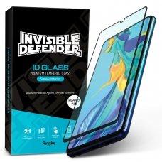 """Apsauginis Stiklas Pilnai Dengiantis """"Ringke Id Full 2.5D"""" 0,33 Mm Huawei P30 (Glhw0002)"""