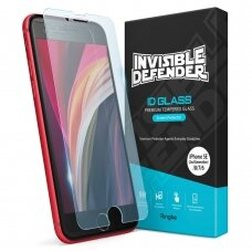 Apsauginis Grūdintas Stiklas Ringke Invisible Defender Id Glass  2,5D 0,33 Mm skirta Iphone Se 2020 / Iphone 8 / Iphone 7 (Igap0012)