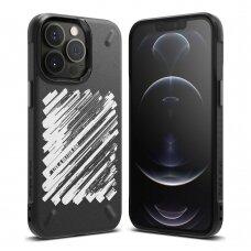 Dėklas Ringke Onyx Design iPhone 13 Pro Max juodas