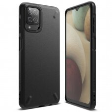 Dėklas Ringke Onyx Durable TPU Case Cover for Samsung Galaxy A12 Juodas (OXSG0050)