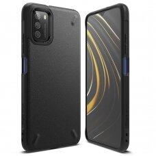 Dėklas Ringke Onyx Durable TPU Case Cover for Xiaomi Poco M3 Juodas (OXXI0001)