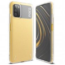 Dėklas Ringke Onyx Durable TPU Case Cover for Xiaomi Poco M3 Permatomas (OXXI0003)