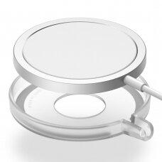 Ringke Slim Korpusas Apple MagSafe Qi belaidžiui įkrovikliui Skaidrus (ACMS0001)