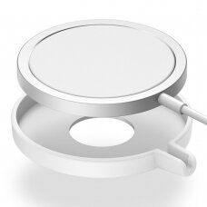 Ringke Slim Korpusas Apple MagSafe Qi belaidžiui įkrovikliui Baltas (ACMS0002)