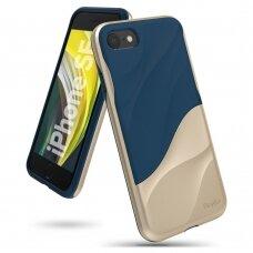 Ringke Wave dėklas su PC rėmu iPhone SE 2020 / iPhone 8 / iPhone 7 auksinis (WVAP0027) UCS062