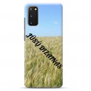 Samsung Galaxy S20 TPU dėklas nugarėlė su jūsų dizainu. Dėklas gaminamas su jūsų pateikta nuotrauka