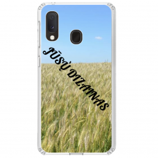 Samsung Galaxy A20E Tpu Dėklas Nugarėlė Su Jūsų Dizainu. Dėklas Gaminamas Su Jūsų Pateikta Nuotrauka
