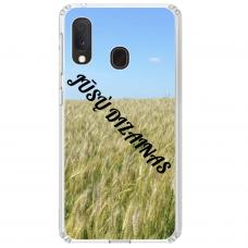 Samsung Galaxy A40 Tpu Dėklas Nugarėlė Su Jūsų Dizainu. Dėklas Gaminamas Su Jūsų Pateikta Nuotrauka