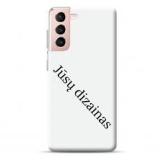Samsung Galaxy S21 Tpu Dėklas Nugarėlė Su Jūsų Dizainu. Dėklas Gaminamas Su Jūsų Pateikta Nuotrauka