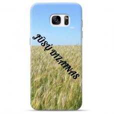 Samsung Galaxy S6 Edge Tpu Dėklas Nugarėlė Su Jūsų Dizainu. Dėklas Gaminamas Su Jūsų Pateikta Nuotrauka
