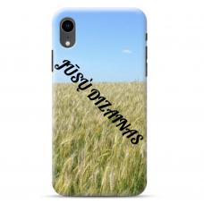 Iphone Xr Tpu Dėklas Nugarėlė Su Jūsų Dizainu. Dėklas Gaminamas Su Jūsų Pateikta Nuotrauka