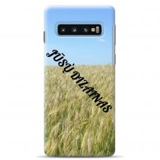 Samsung Galaxy S10 Tpu Dėklas Nugarėlė Su Jūsų Dizainu. Dėklas Gaminamas Su Jūsų Pateikta Nuotrauka