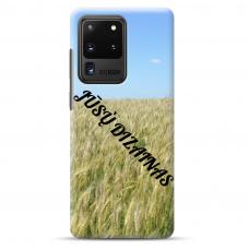 Samsung Galaxy S20 Ultra Tpu Dėklas Nugarėlė Su Jūsų Dizainu. Dėklas Gaminamas Su Jūsų Pateikta Nuotrauka
