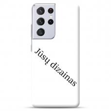 Samsung Galaxy S21 Ultra Tpu Dėklas Nugarėlė Su Jūsų Dizainu. Dėklas Gaminamas Su Jūsų Pateikta Nuotrauka